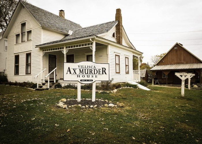 Villisca Ax Murder House is one of many haunted houses in America